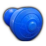STAMINA 2x Plastic Dumbbell 3kg [ST-800-3CB] - Blue - Barbell / Dumbbell